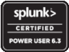 Splunk Certified Power User 6.3